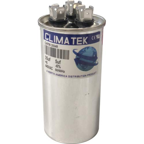 35//5 uf MFD 370//440 Volt VAC fits Goodman # CAP050350440RSS ClimaTek Round Capacitor