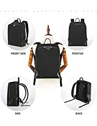 Business Water Resistant Laptop Backpack School College Student Computer Backpacks Fits Under 15.6 Inch Laptops...