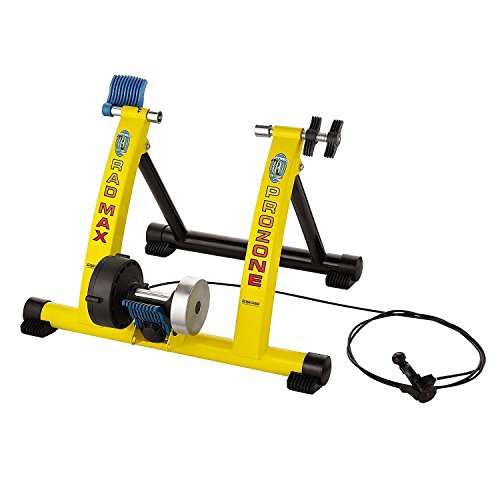Hot Sale! Indoor Bike Trainer 7 Levels Smooth Magnetic Resistance Portable Cycle Rack by Polarbear's Shop