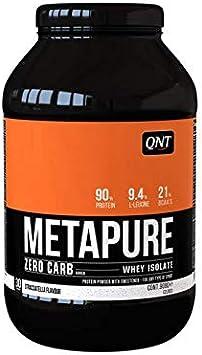 QNT Metapure Whey Protein Isolate Zero Carb Chocolate Blanco 908g
