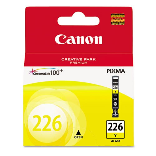 Canon CLI-226 Yellow Ink Tank for PIXMA MG5120, MG5220, iP4820, iP4920 - Online Wearhouse