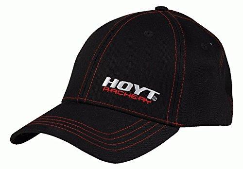 Hoyt Stealth Black/red Cap