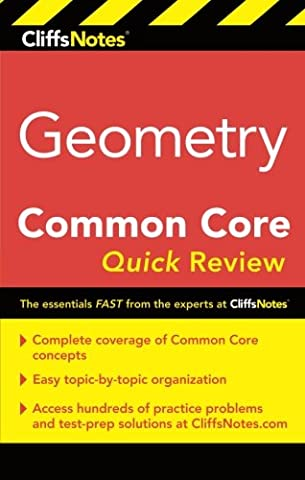 CliffsNotes Geometry Common Core Quick Review - Geometry Common Core