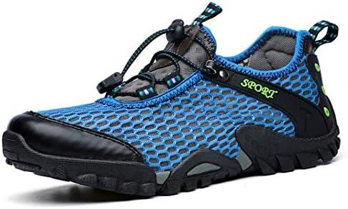 トレッキングシューズメンズ 登山靴 メッシュ ランニング スニーカーメッシュシューズ ローシューズ 厚底 衝撃吸収 柔軟 通気 アウトドア 防滑 耐摩耗 軽量 滑り止め ハイキング クライミングシューズ大きいサイズ