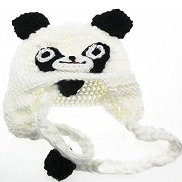 Hrph Mode Baby-Kleinkind -Kinder Panda Muster gestrickt ...