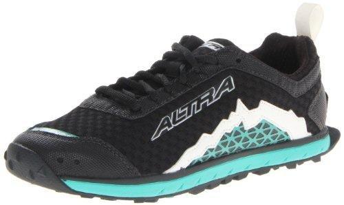 Altra Women's Lone Peak 1.5 Running Shoe,Black/Teal,6.5 M US