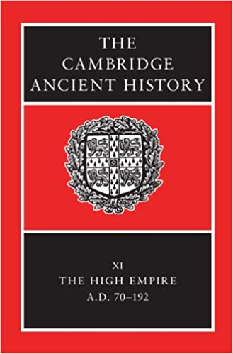 The Cambridge Ancient History XI (1st ed.)