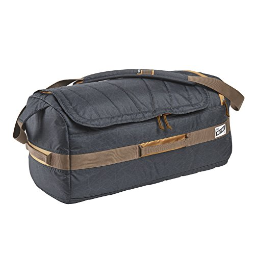 Kelty Dodger 40L Duffel Bag, Black Geo Heather