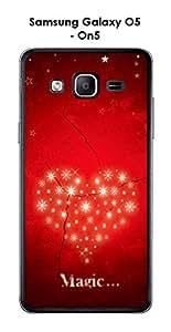 Carcasa para smartphone Samsung Galaxy-O5 On5 design Magic Love