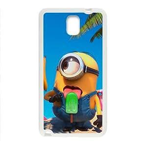 Cute naughty horarios de minions Cell Phone Case for Samsung Galaxy Note3