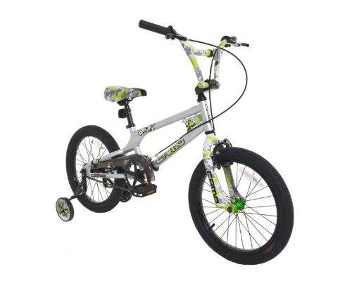 Dynacraft 8093-35TJ Decoy Boys Camo Bike, 18-Inch, Silver/Green/Black