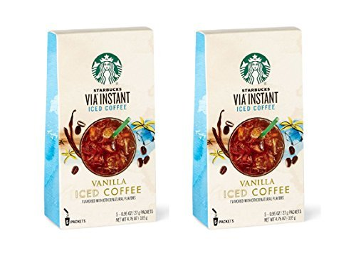 Starbucks VIA Instant Vanilla Iced Coffee - 2 Pack