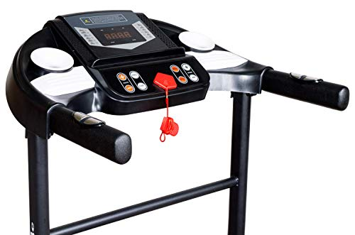 Healthgenie 3911M 1HP (2.5HP Peak) Motorized Treadmill with Paid Installation , No-Auto Incline & No Auto-Lubrication