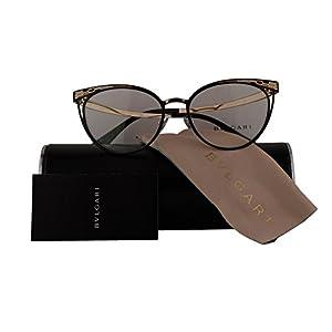 Bvlgari Authentic Eyeglasses BV2186 Black Gold w/Clear Demo Lens 2018 BV 2186 (53mm)