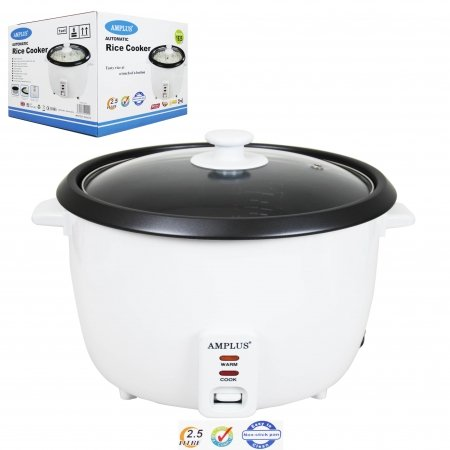 0.8 LITRE AUTOMATIC RICE COOKER - TASTY RICE AT A TOUCH OF A BUTTON