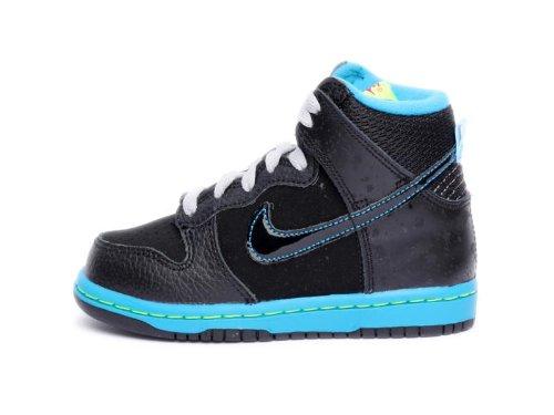 Nike Kids Dunk High Nd (Ps) Black Fireberry 354792-044