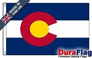 duraflag® Colorado bandera de calidad profesional (puerta y Cambiadas)