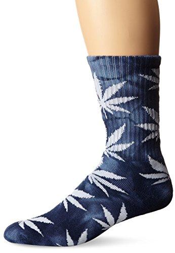 nice HUF Men's Tie Dye Plantlife Crew Sock
