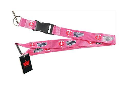 ns Pink Clip Lanyard Keychain Id Ticket Mlb ()