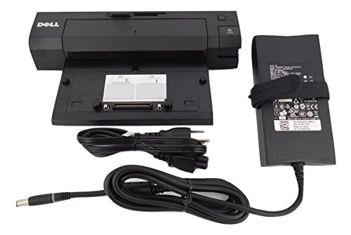 Dell E-Port Replicator PR02X Docking Station and Port Replicator with PA-4E 130W AC For Dell E Series Laptop / Notebooks