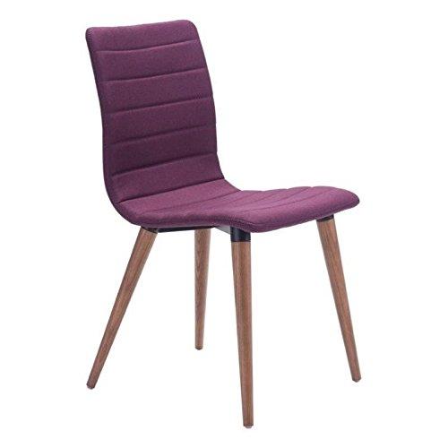 Zuo Jericho Dining Chair Purple