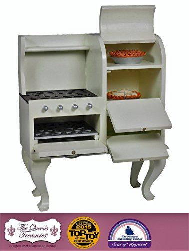 "Price comparison product image The Queen's Treasures 1930's Style Stove,  Kitchen Furniture for 18"" Dolls and American Girl Doll"