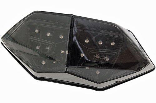 MOTO MPH(モトエムピーエイチ)13-14 NINJA 300用 INTEGRATEDテールライト BLACKOUT B078W2C9V4