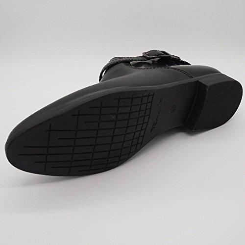 Tamaris Damen Stiefeletten Ankle Boots Schwarz