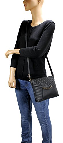 Retro Bag H1872 Quilted Brown Crossbody Scarleton 4dFqPwTq