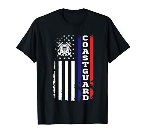 (US Coast Guard Gift American Flag Shirts )