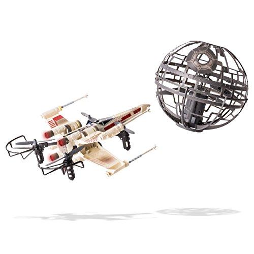 Star Wars Air Hogs X-Wing vs. Death Star Rebel Assault - RC Drones ...
