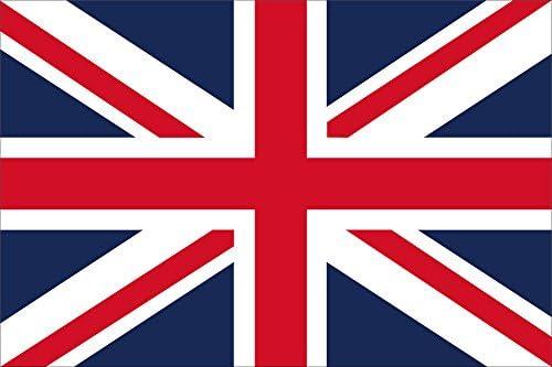 世界の国旗 イギリス 国旗 手旗サイズ [ 50×75cm 高級テトロン製 ]