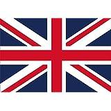 イギリス英国 国旗 ユニオンジャック[ 卓上旗  国旗 16×24cm 高級テトロン製]