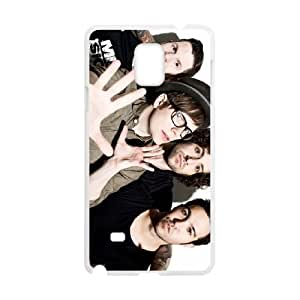 Samsung Galaxy Note 4 Cell Phone Case White Fall out boy aehv
