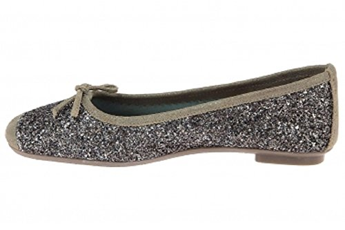 Reqins Ballerines Fonce Sparkle Ballerines Fonce Sparkle Taupe Taupe Reqins TqXpF