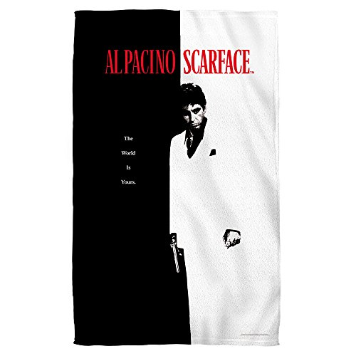 Scarface - Poster Beach Towel 36 x 57in by Universal Studios