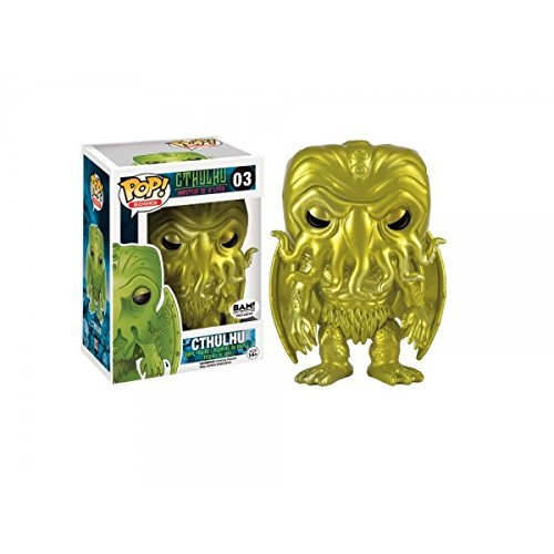 Funko Cthulhu POP! Books Cthulhu Vinyl Figure #03 [Gold] by Cth