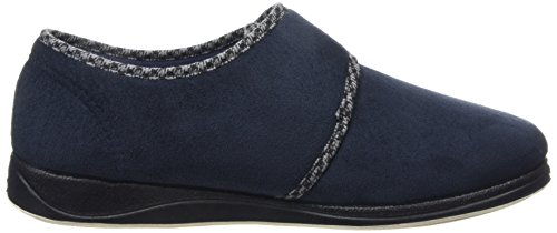 Padders Harry - Navy (tekstil) Mens Tøfler Marine