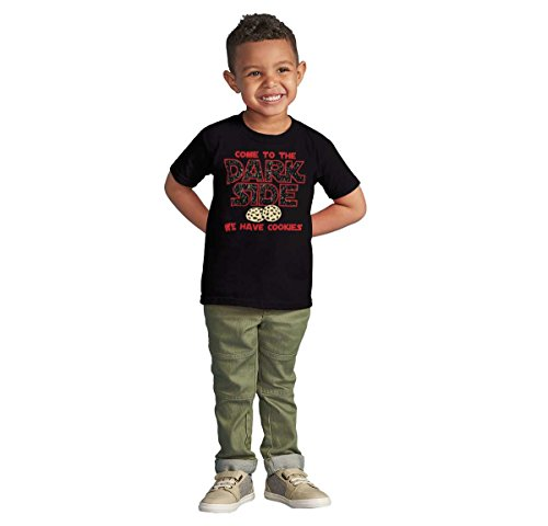 Brisco Brands Come to Dark Side Star Han Solo Wars Yoda Chewbacca Kylo Ren Toddler Infant T by Brisco Brands (Image #3)