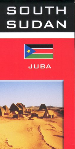 Sudan & South Sudan 1:2,500,000 Travel Map GIZI, 2011 edition