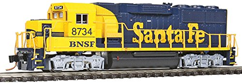 Walthers Proto N Scale EMD GP60 Locomotive BNSF Blue/Yellow Warbonnet #8734