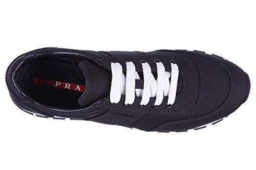 Prada scarpe sneakers donna nuove originale nero
