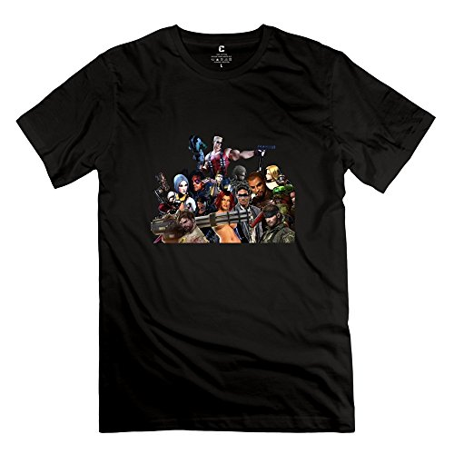 American Sniper:chris Kyle Nerd Short-Sleeve Black T Shirts For Mens Size L