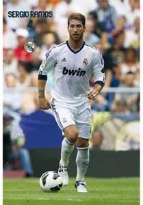 Poster Real Madrid Sergio Ramos 2012-2013: Amazon.es: Deportes y aire libre