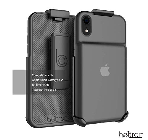 Belt Clip Holster Compatible with Apple Smart Battery Case (for iPhone XR) - Smart Case NOT Included (Renewed)