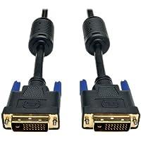 Tripp Lite DVI Dual Link Cable, Digital TMDS Monitor Cable (DVI-D M/M) 100-ft.(P560-100)