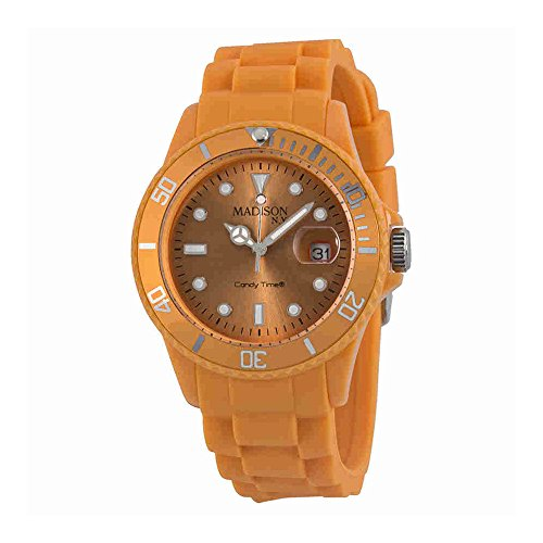 Madison Candy - Madison Candy Time Orange Unisex Watch U4167-22-1