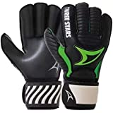 Luva De Goleiro Three Stars Onix - Adulto