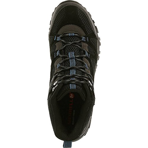 Shoes Merrell TEX Blue Rockbit For Mid Walk Tahoe Men's To Black Gore Learning xZUXZgn