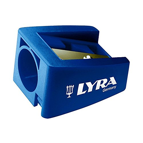 1 x LYRA GROOVE TRIPLE 1 SUPER JUMBO SIZE PENCIL SHARPENER for 16.5mm Diameter Pencils Comes in Various Colours L7301170